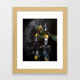 BobaFett of the 501st Legion fan art Framed Art Print