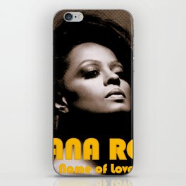 DIANA ROSS NAME OF LOVE TOUR 2019 KRIPTON iPhone Skin
