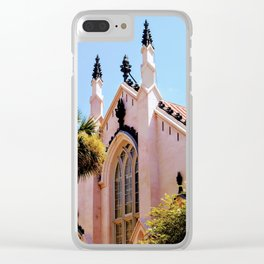 Carolina Cathedral Clear iPhone Case