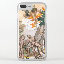 JUDGMENT MAJOR ARCANA Clear iPhone Case
