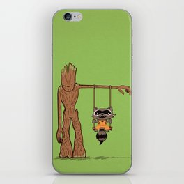 Come Swing With Me iPhone Skin