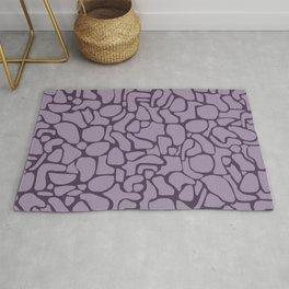 Purple Elements Rug