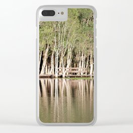 Duck Lake Clear iPhone Case