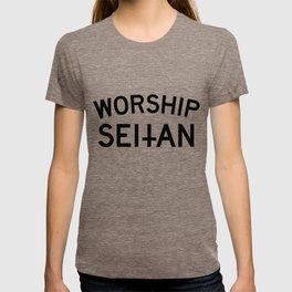 WORSHIP SEITAN T-shirt