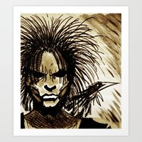 sandman Art Prints featuring Sandman by MSG Imaging