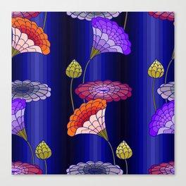 decorative floral ornament Canvas Print