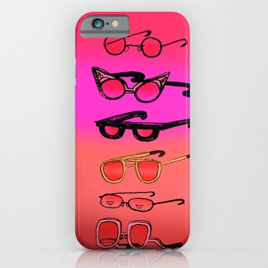 Nostalgia Glasses iPhone & iPod Case