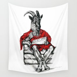 Day off Devil Wall Tapestry