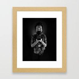 summer of sam.  Framed Art Print