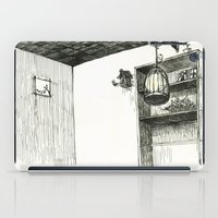 hunting iPad Cases featuring Moon Hunting by Nayoun Kim