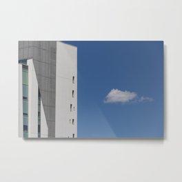 Hermit cloud Metal Print
