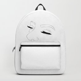 Lashes and nose rings Backpack