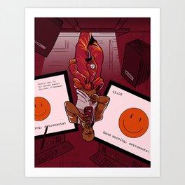 Morning on the Daedalus: Ryan Art Print