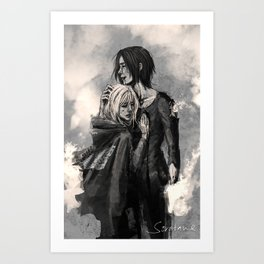"""""""No matter what, I'm on your side."""" Art Print"""