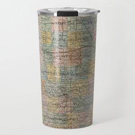 Vintage Map of Iowa (1875) Travel Mug