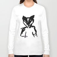 badger Long Sleeve T-shirts featuring Badger by SarahEllenBurns