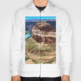 Horseshoe Bend - Grand Canyon, Colorado River View No. 1 Hoody