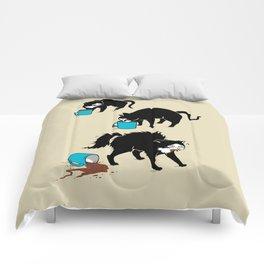 Coffee Cat Comforters