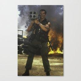 Arnold Schwarzenegger Commando Iphone 11 Case (HD) Canvas Print
