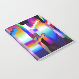 colorful labyrinth Notebook