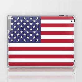 USA flag - Hi Def Authentic color & scale image Laptop & iPad Skin