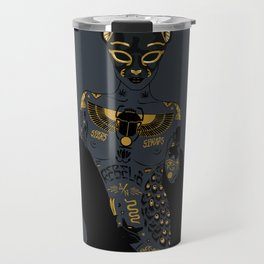 Late Night Egyptian Tales Ep. 2: Bastet Travel Mug