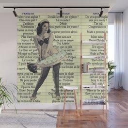 Maid Franglaise  Wall Mural
