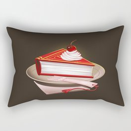 Food For The Brain Rectangular Pillow