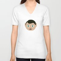 frank V-neck T-shirts featuring frank by 21871