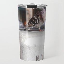 NYC Pigeon Travel Mug