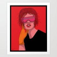 Drifter Art Print