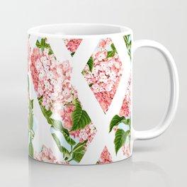 vintage flower wall Coffee Mug