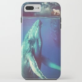 The Whale and the Wolf iPhone Case
