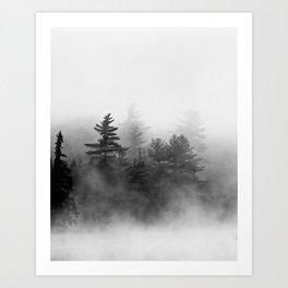 shrouded Art Print