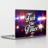 2pac Laptop & iPad Skins featuring F*ck the police by Street Vandals