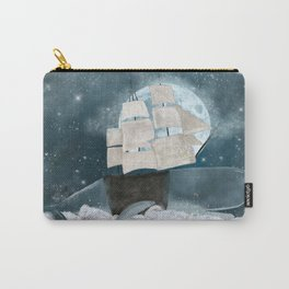 the sky whale Carry-All Pouch