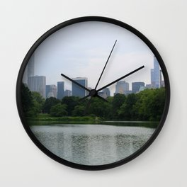 Perk of Central Park Wall Clock