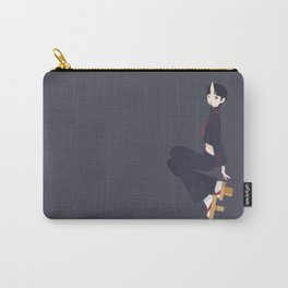 Ghost - Blue Carry-All Pouch