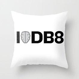 I Think Debate Throw Pillow