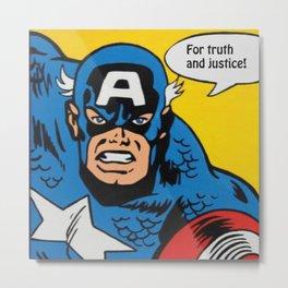Superhero No. 29 Metal Print