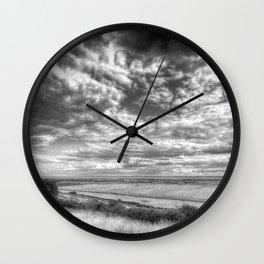 Thames Estuary View Wall Clock