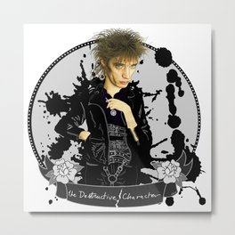 The Destructive Character Metal Print