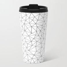 Low Pol Mesh (positive) Metal Travel Mug