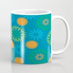 Spikey Flower Calm Mug