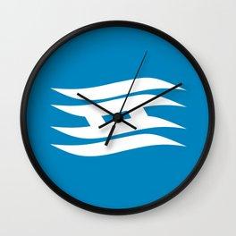 hyogo region flag japan prefecture Wall Clock