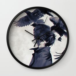 I wish that I could fly ... Wall Clock