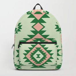 Navajo motif with watermelon pallet Backpack