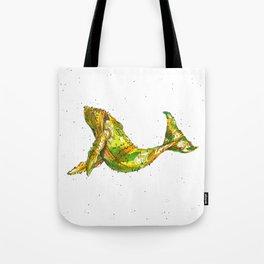 Pineapple Whale Tote Bag