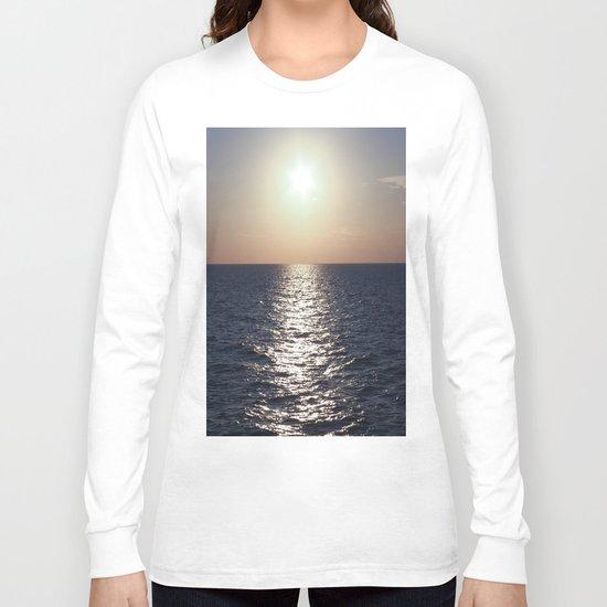 Sunset, Santorini Long Sleeve T-shirt