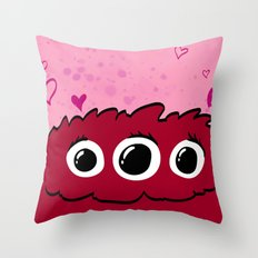 Monster Print - II Throw Pillow